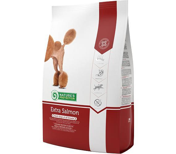 Nature's Protection Dog Dry Extra Salmon 12 kg + DOPRAVA ZDARMA