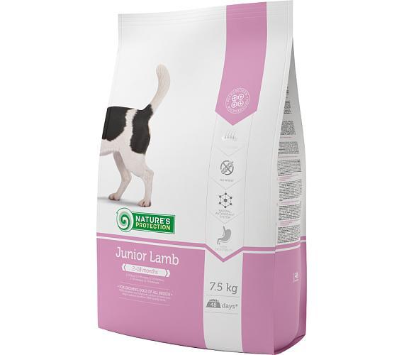 Nature's Protection Dog Dry Junior Lamb 7,5 kg + DOPRAVA ZDARMA