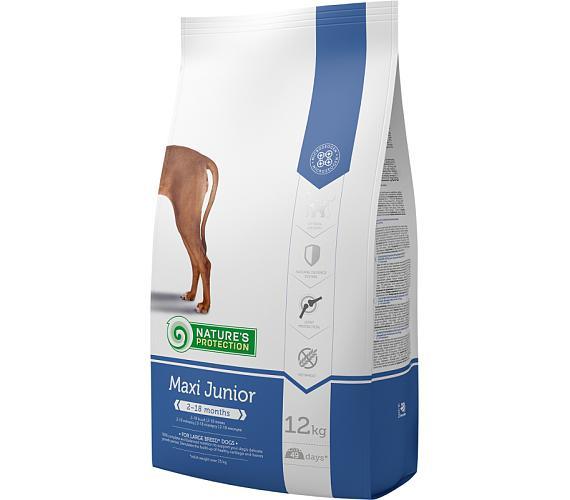 Nature's Protection Dog Dry Junior Maxi 12 kg + DOPRAVA ZDARMA