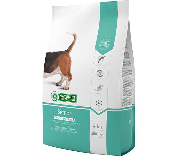 Nature's Protection Dog Dry Senior 4 kg