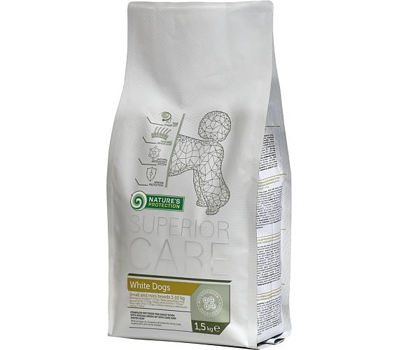Nature's Protection Dog Dry Superior Adult White 1,5 kg