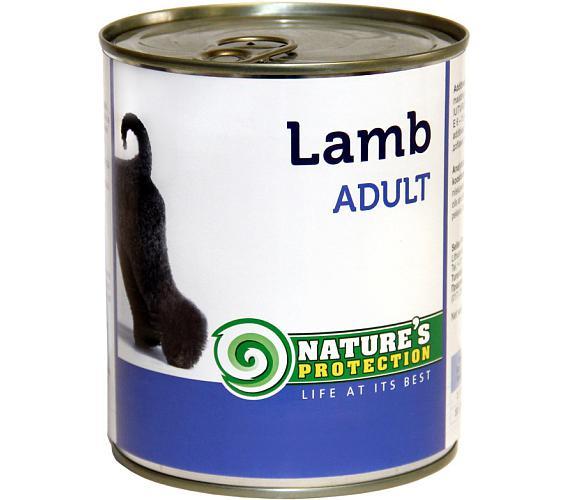 Nature's Protection Dog konz.Adult jehně 800 g