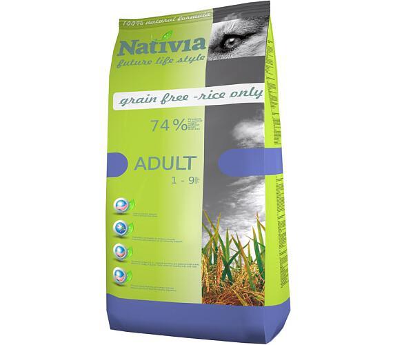 Nativia Dog Adult Chicken & Rice 15 kg + DOPRAVA ZDARMA
