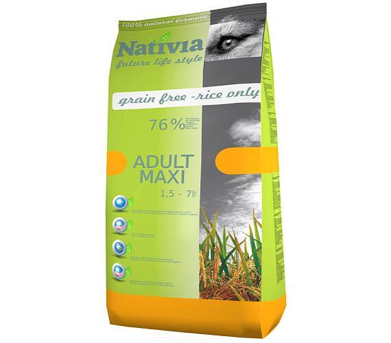 Nativia Dog Adult Maxi Chicken & Rice 15 kg + DOPRAVA ZDARMA