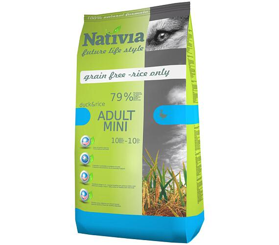 Nativia Dog Adult Mini Duck & Rice 3 kg