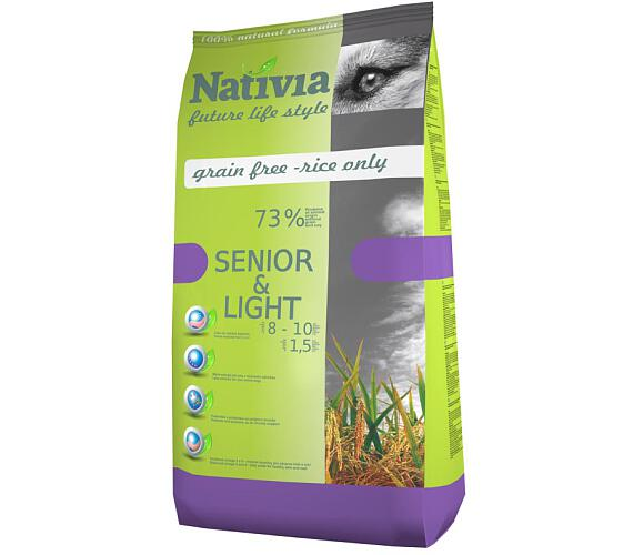 Nativia Dog Senior&Light Chicken & Rice 3 kg