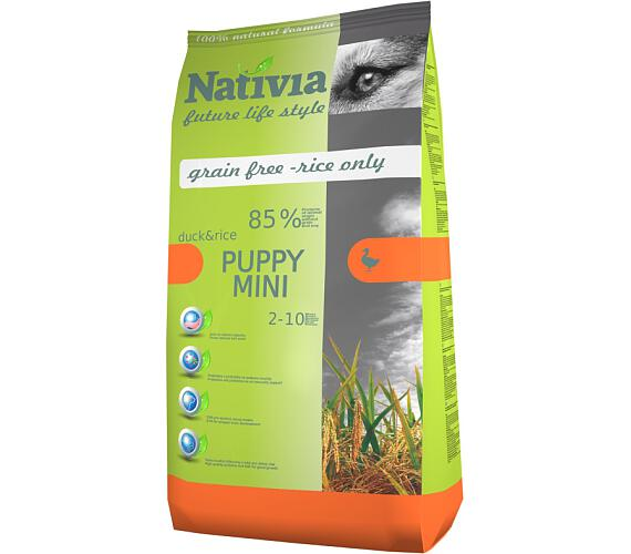 Nativia Puppy Mini Duck & Rice 3 kg