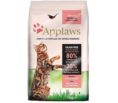Applaws Cat Dry Adult Salmon 7,5 kg