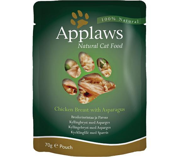 Applaws Cat kaps. kuřecí prsa a chřest 70 g