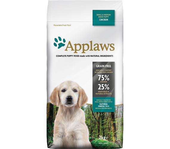 Applaws Dog Dry Puppy S&M Breed Chicken 2 kg