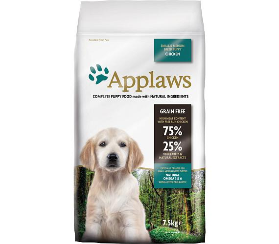 Applaws Dog Dry Puppy S&M Breed Chicken 7,5 kg
