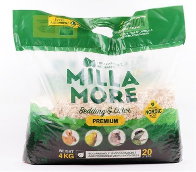 Podestýlka hlod. štěpky osika MillaMore Premium 20 l