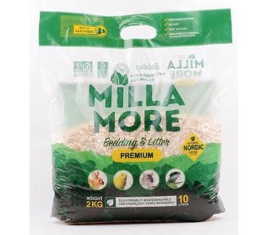 Podestýlka hlod. štěpky osika MillaMore Premium 10 l