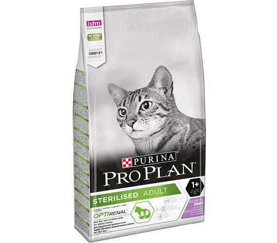 PRO PLAN Cat Sterilised Turkey 10 kg