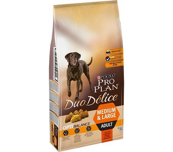 PRO PLAN Dog Adult Duo Délice Beef 10 kg + DOPRAVA ZDARMA