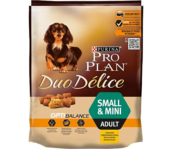 PRO PLAN Dog Adult Duo Délice Small Chicken 700 g