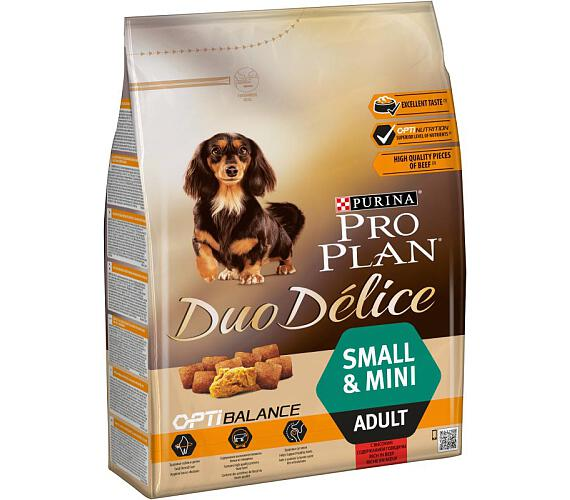PRO PLAN Dog Adult Duo Délice Small Beef 2,5 kg