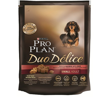 PRO PLAN Dog Adult Duo Délice Small Salmon 700 g