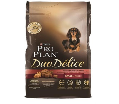 PRO PLAN Dog Adult Duo Délice Small Salmon 2,5 kg