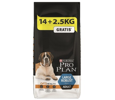 PRO PLAN Dog Adult Large Robust 14+2,5 kg zdarma