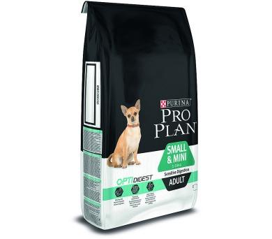 PRO PLAN Dog Adult Small&Mini Sens.Digestion 7 kg + DOPRAVA ZDARMA