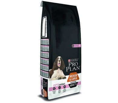 PRO PLAN Dog Adult Medium&Large 7+ Sens.Skin 14 kg + DOPRAVA ZDARMA