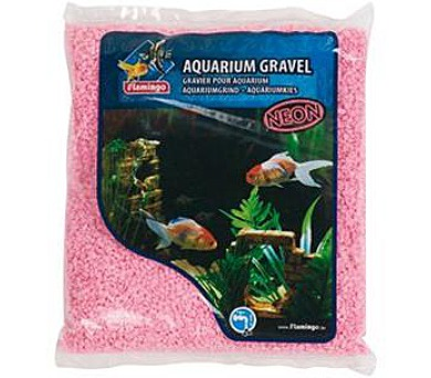 Písek akvarijní růžový micro Flamingo 1 kg
