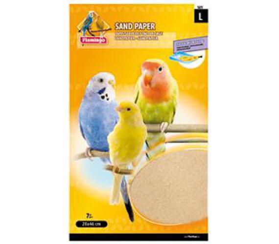 Písková podložka do klece pro ptáky L