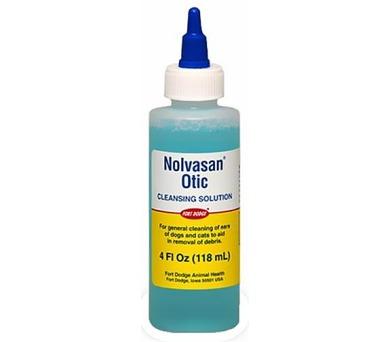 Nolvasan Otic cleansing a.u.v. sol 118ml