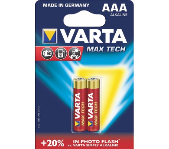 LR03 2BP AAA Max tech Alk Varta