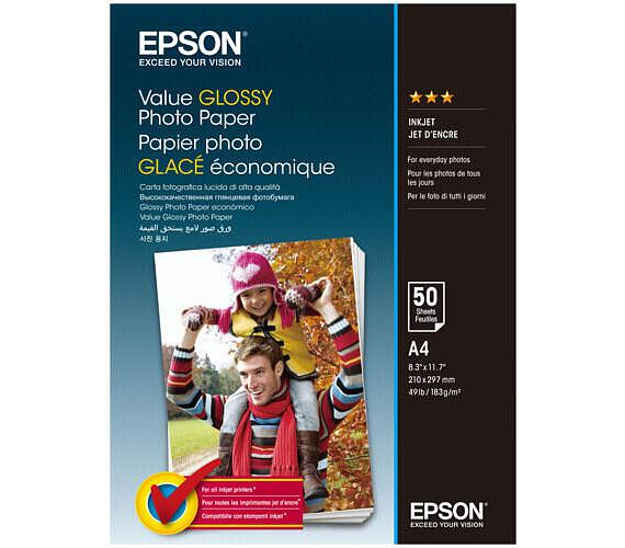 EPSON Value Glossy Photo Paper A4 50 sheet (C13S400036)