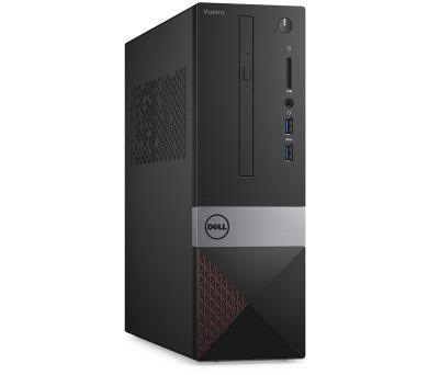 Dell PC Vostro 3268 SF i3-7100/4GB/500GB/VGA/HDMI/DVD-RW/WiFi+BT/W10P/3RNBD/Černý