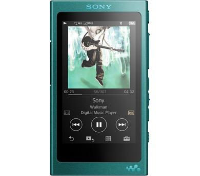 Sony MP4 16GB NW-A35HN modrý ,Hi-res + sluchátka