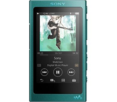Sony MP4 16GB NW-A35 modrý ,Hi-res + DOPRAVA ZDARMA
