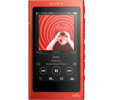 Sony MP4 16GB NW-A35 červený,Hi-res