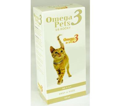 Omega3 pets 3/6 Kočky sol 125 ml