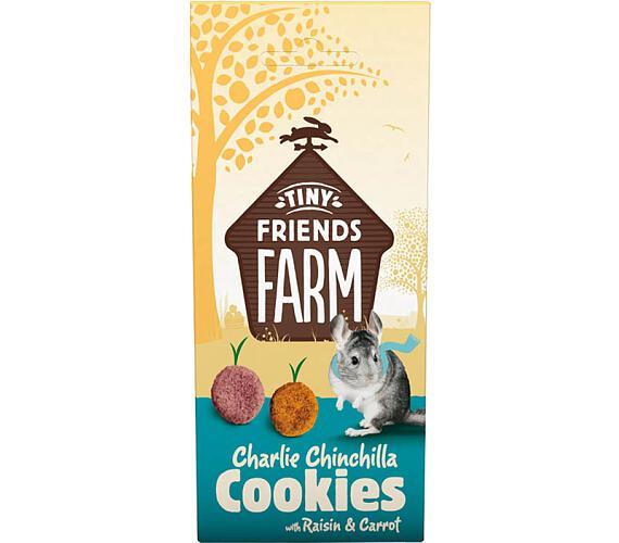 Supreme Tiny FARM Snack Charlie Cookies - činčila 120 g