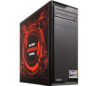 HAL3000 IEM Certified PC Infinium by MSI / Intel i5-7400/ 16GB/ GTX 1070/ 120GB SSD + 2TB HDD/ DVD/ bez OS + DOPRAVA ZDARMA