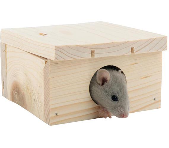 Domek dřevo křeček