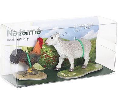 ALBI Rozšíření hry Na farmě 1 (ovečka a kohout)