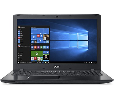 Acer Aspire E 15 15,6/i5-7200U/8G/128SSD+1TB/W10 černý + DOPRAVA ZDARMA