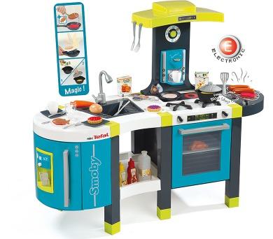 Kuchyňka French Touch modro-zelená elektronická + DOPRAVA ZDARMA