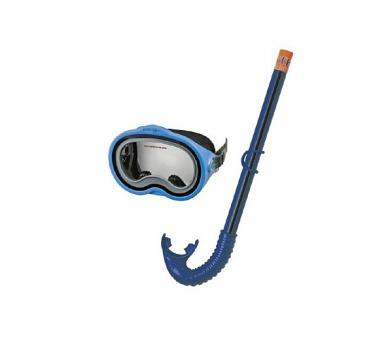 Sada potápěčská brýle + šnorchl plast na kartě 22x50x8cm 8+