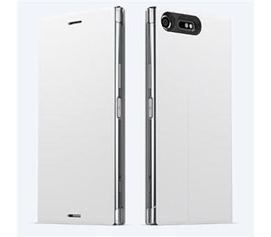 Sony Style Cover Flip pro Xperia XZ Premium White + DOPRAVA ZDARMA