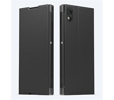 Sony Style Cover Flip pro Xperia XA1 Black + DOPRAVA ZDARMA