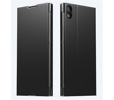 Sony Style Cover Flip pro Xperia XA1 Ultra Black + DOPRAVA ZDARMA