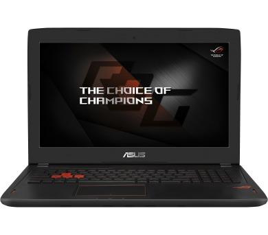 ASUS GL502VS 15.6/i7-7700HQ/512SSD/16G/NV/W10 + DOPRAVA ZDARMA