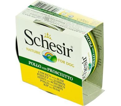 Schesir dog konz. kuřecí filety se šunkou 150 g