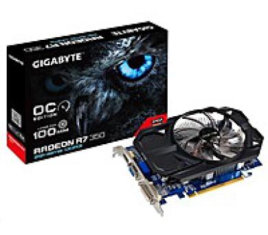 GIGABYTE VGA AMD Radeon™ R7 350 2GB DDR3 (Overclock) + DOPRAVA ZDARMA