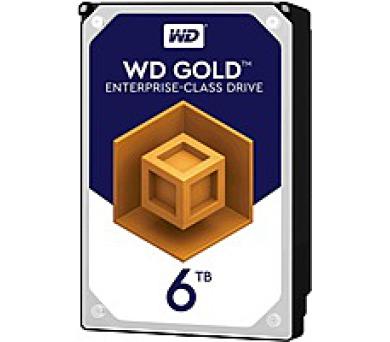 WD GOLD RAID WD6002FRYZ 6TB SATA/ 6Gb/s 128MB cache 226MB/s + DOPRAVA ZDARMA